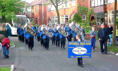 Broadoak Whit Friday band contest