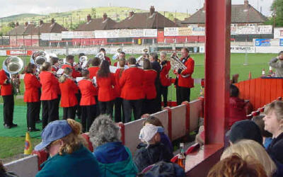 Hurst Cross Whit Friday band contest