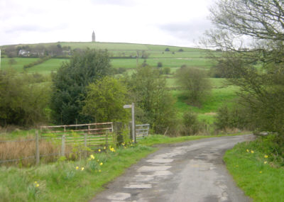 Footpath to Hartshead Pike, Ashton under Lyne
