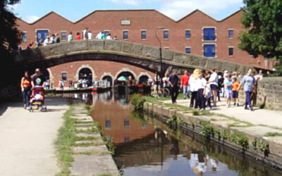Portland Basin during the Canals Festival